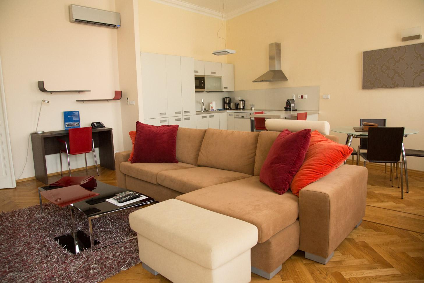 Appartement in Praag