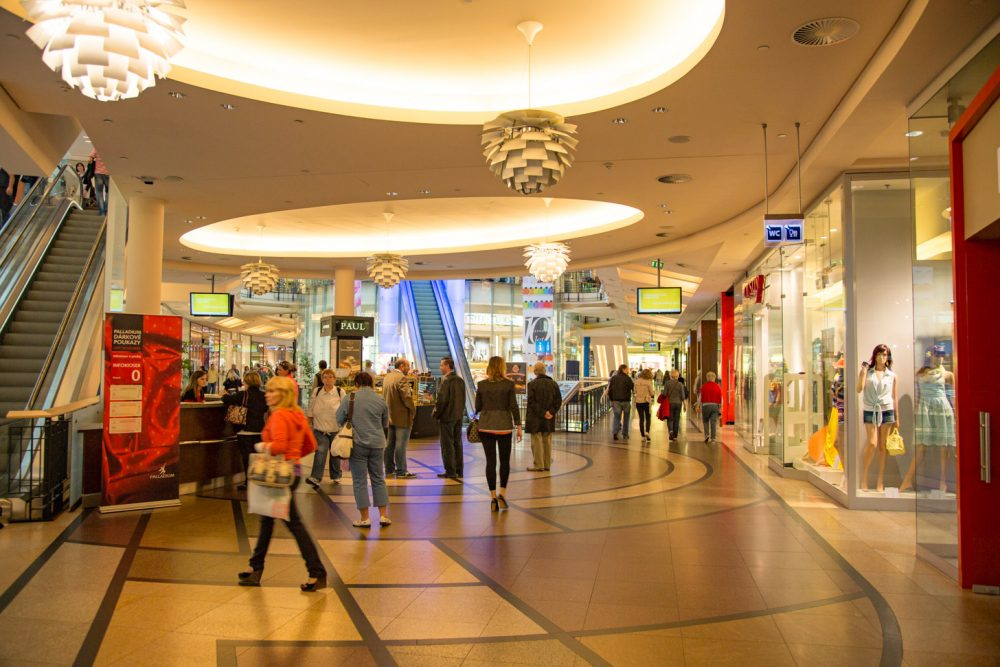 winkelcentrum in Praag